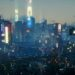 Cyberpunk 2077 - Mercs, Tour of Night City California coast all streets have names